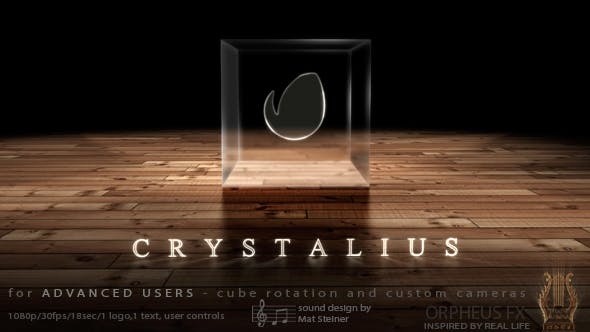 Thumbnail for Crystalius - Cube Logo
