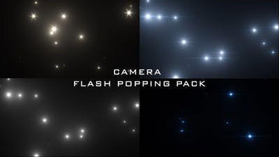 Camera Flash Popping Pack