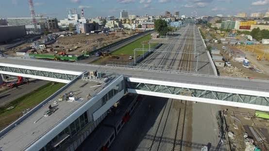 A Suburban Train
