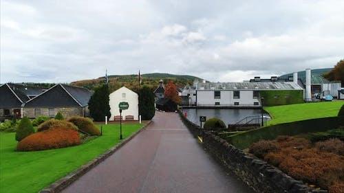 Glenfiddich Distillery in Dufftown Scotland