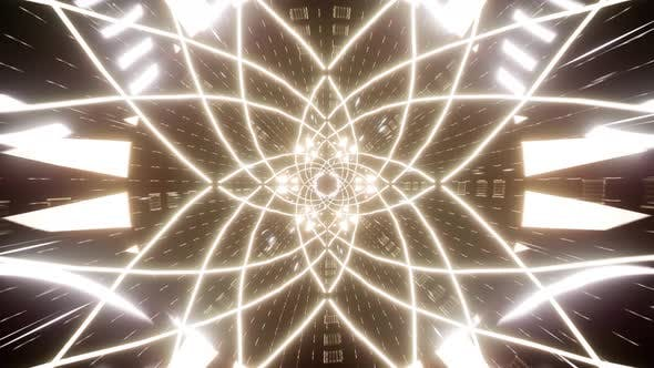Abstract Glowing Sacred Symbols Effect 4K 01