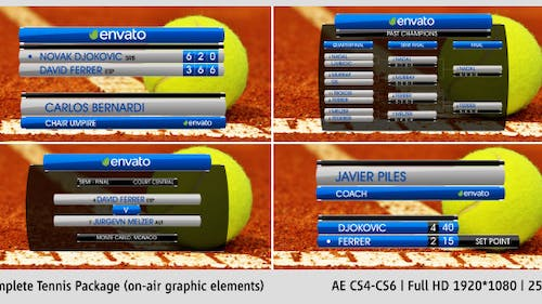Complete On-Air Tennis Package