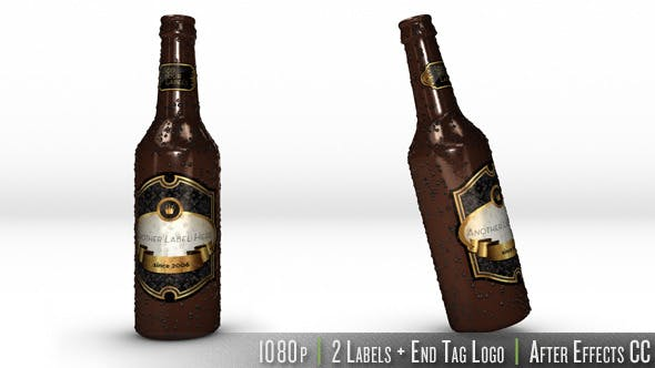 Thumbnail for Personalized Bottle of Beer