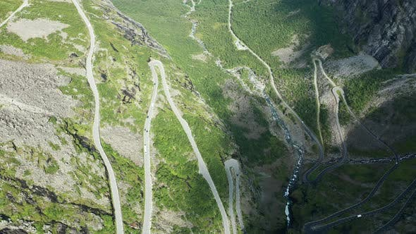 Thumbnail for Trollstigen or Trolls Path Is a Serpentine Mountain Road in Norway
