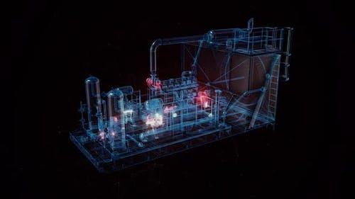 The Industrial Compressor Hud Hologram Hd
