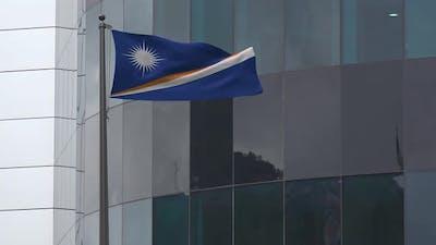 Marshall Islands Flag Background 4K