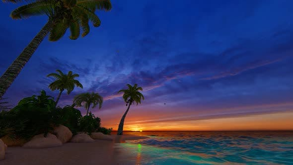 Thumbnail for Beach At Sunrise