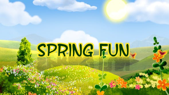 Thumbnail for Spring Fun - Apple Motion