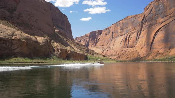Thumbnail for Motorboat on Colorado River