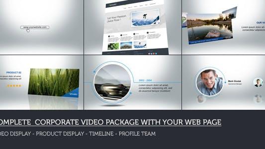 Paquete Corporativa Web
