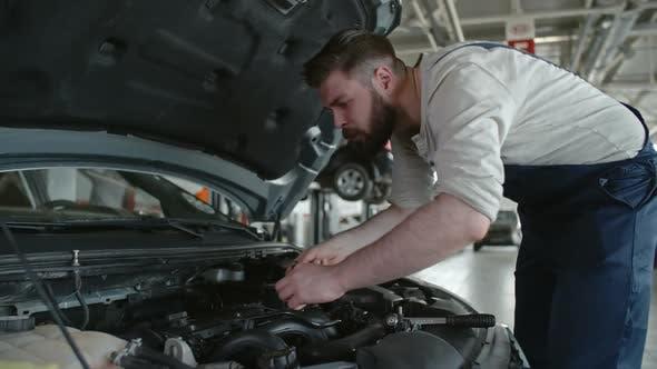 Thumbnail for Mechanic Doing Routine Maintenance