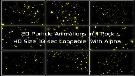 Thumbnail for Magic Particles Pack 01