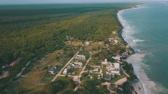 Thumbnail for Aerial View of Tulum