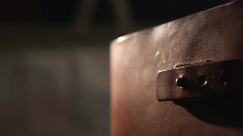 Old leather bound book