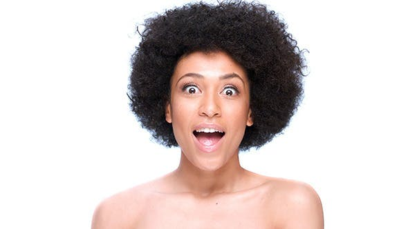 Thumbnail for Beautiful African American Girl Doing Faces