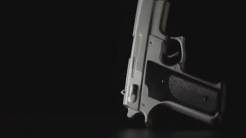 Gun Falls Down