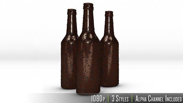 Thumbnail for Cold Glass Beer Bottle Slide In