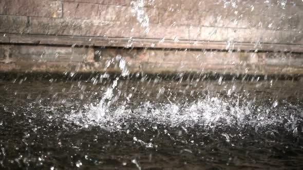 Thumbnail for Waterfall And Brick Wall