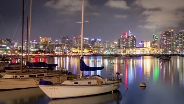 Thumbnail for San Diego Marina Time Lapse