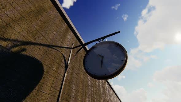 Thumbnail for Train Station Clock Timelapse