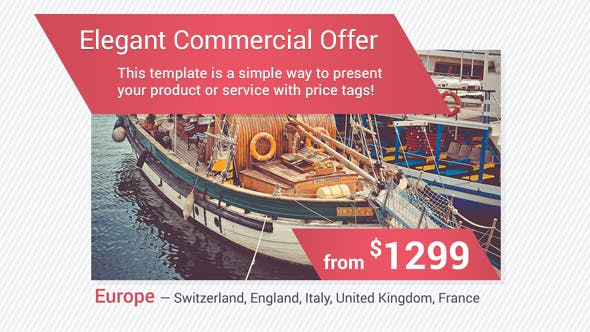 Cover Image for Elegant Commercial Offer