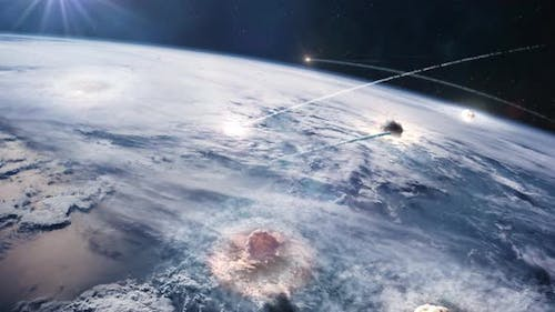 The End of the World - Nuclear War Seen From From Orbit