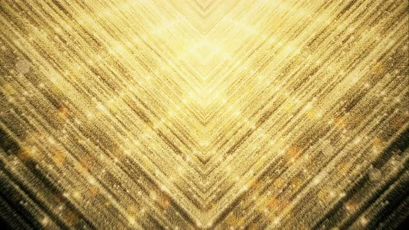 Cover Image for Gold Glitter And Reflection Lights 04 4K