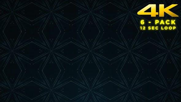 Thumbnail for Line Kaleidoscope - 6 Pack