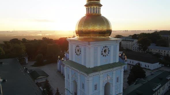 Thumbnail for Kyiv, Ukraine: St. Michael's Golden-Domed Monastery in the Morning