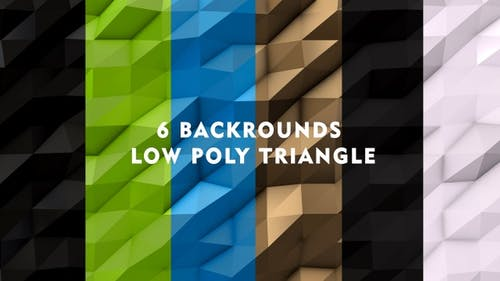 Pack Low-Poly-Hintergrund