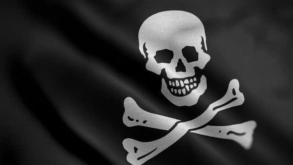 Thumbnail for Pirates Flag Blowing In Wind