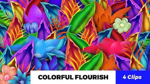 Colorful Flourish