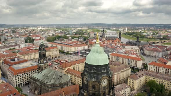 Aerial View of Dresden