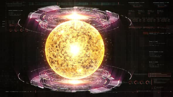 Thumbnail for Futuristic Holographic Nuclear Fusion Particles Simulation