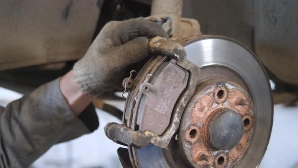 Thumbnail for Replacing Brake Pads.