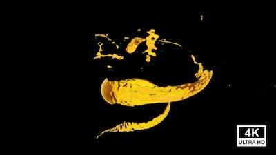 Twisted Oil Splash 4K