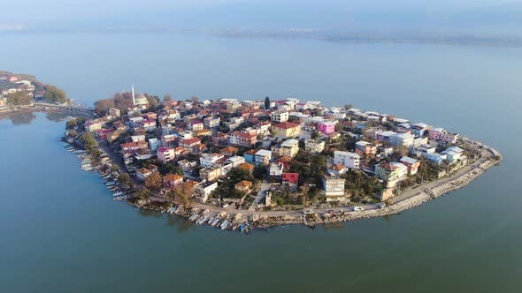 Houses Covering the Entire Peninsula