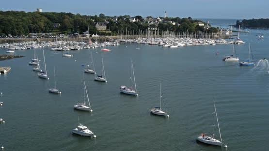Benodet, Finistere department, Brittany, France