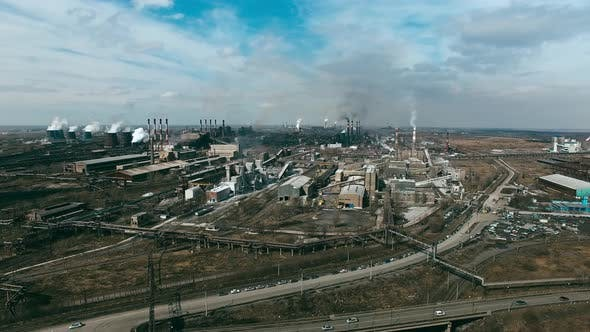 Cover Image for Metallurgical Plants Polluting Air