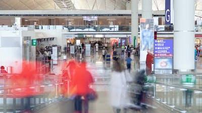 International Airport Time Lapse China