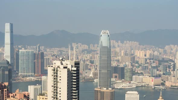 Timelapse Video of Hong Kong Victoria Harbour