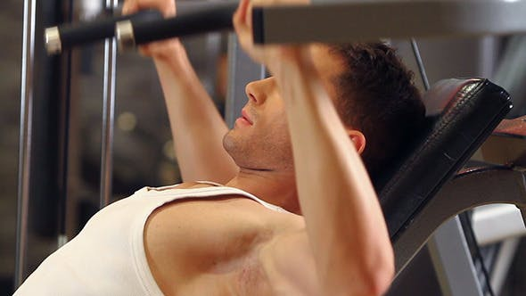Thumbnail for Sporty Man at the Gym