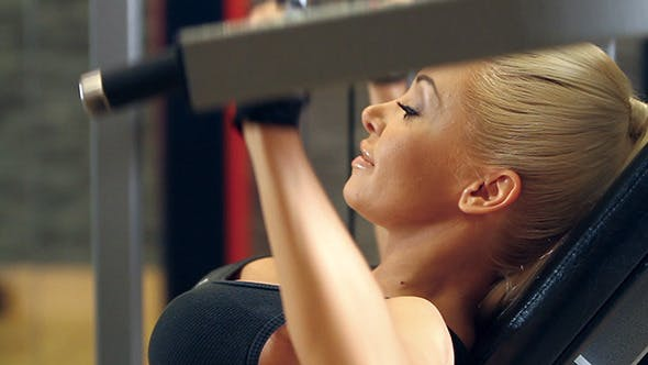 Thumbnail for Sexy Sporty Woman at the Gym