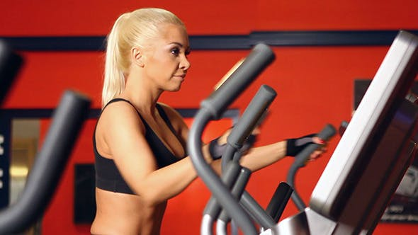 Thumbnail for Beautiful Sporty Woman at the Gym