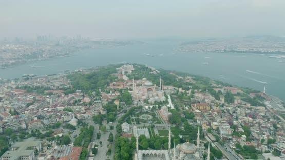 Istanbul Historical Peninsula And Hagia Sophia