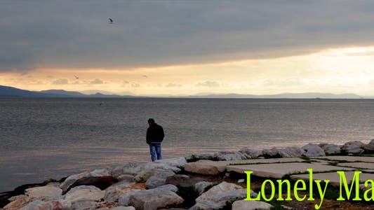 Thumbnail for Lonely Man In The Sunset