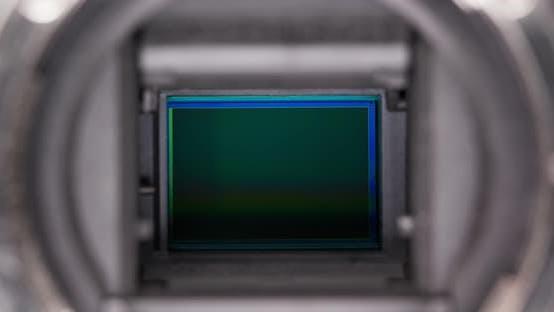 Thumbnail for Digital Camera sensor close up