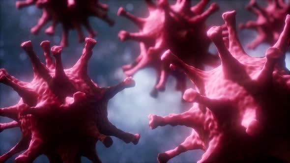 Thumbnail for Loop Rotation of Coronavirus COVID-2019