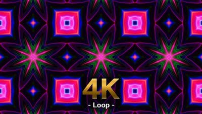 Psychedelic Kaleidoscope 4K Loop 01