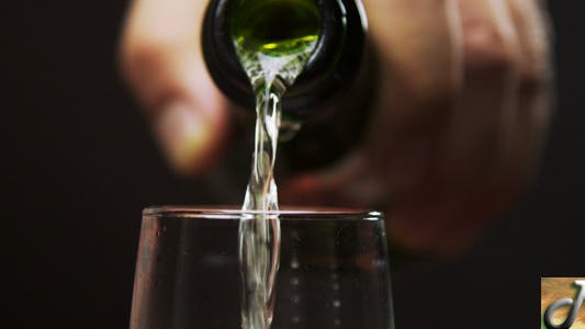 Thumbnail for Champagne Being Poured In Glass 02